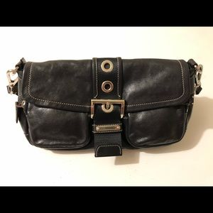 "Vintage Prada ""BR2417 Calf Pocket Nero"" Purse"